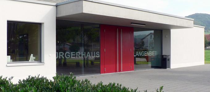 Eingang Bürgerhaus